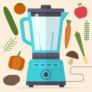 Gesunde Ernährung Küchenmaschine