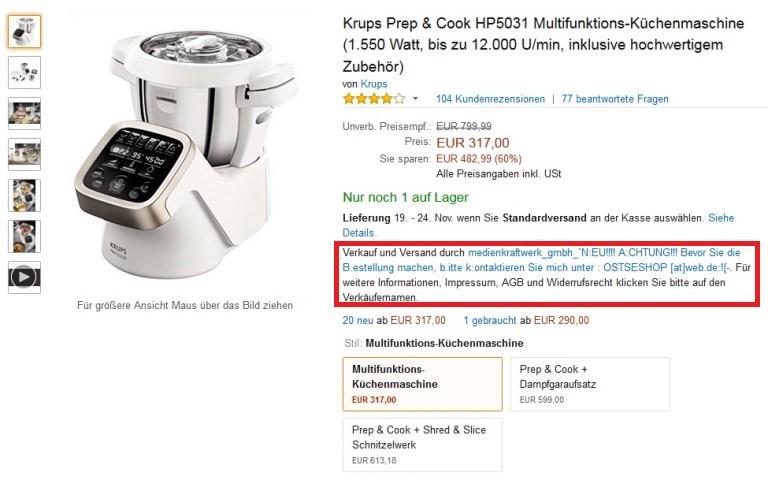 Krups Prep &  Cook kaufen