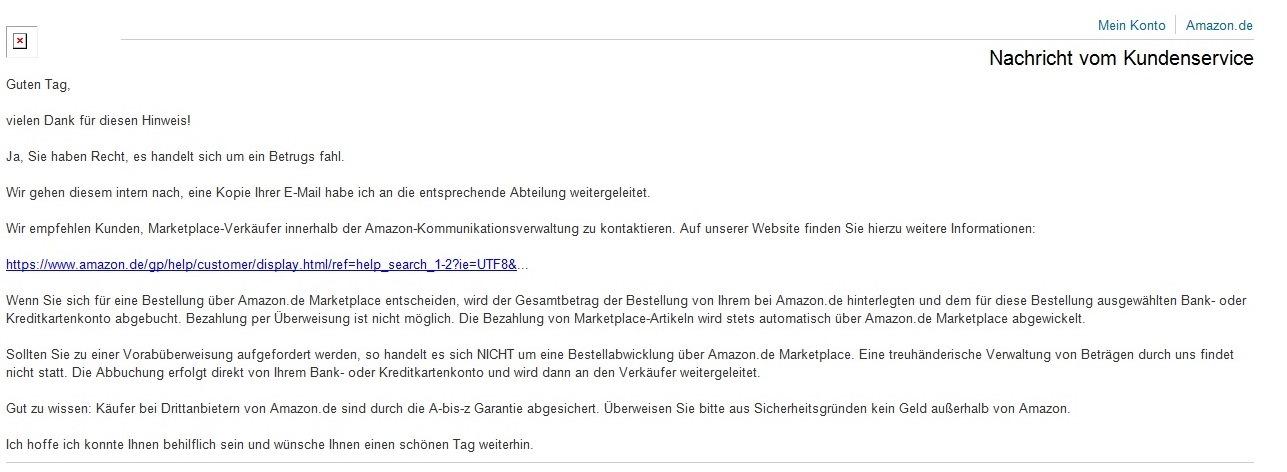 Mail Amazon Fakeshop - So kaufen Sie sicher im Internet ein