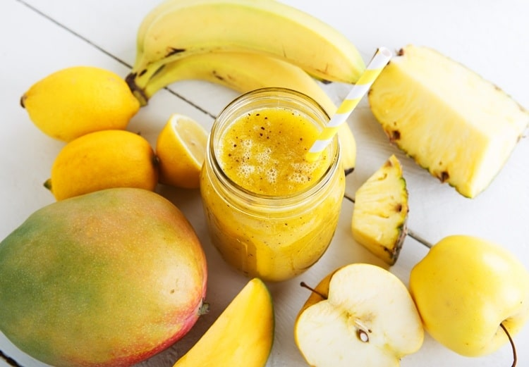 Rezept Smoothie Banane Apfel